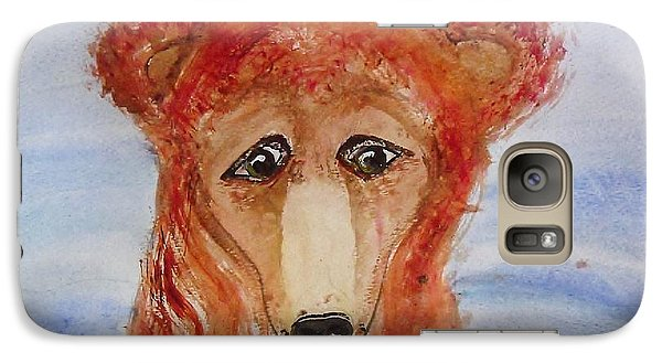Galaxy Case featuring the painting Water Bear by Carol Duarte