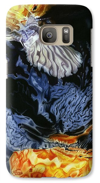 Galaxy Case featuring the painting Water Dance by Dan Menta