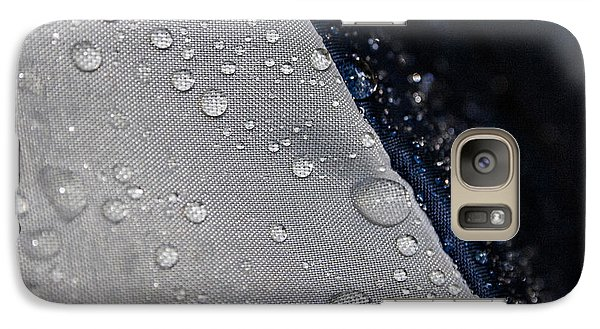 Galaxy Case featuring the photograph Water Droplets by Ester  Rogers