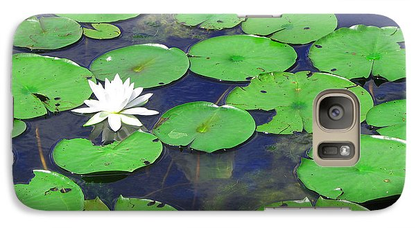 Galaxy Case featuring the photograph Water Lily by Clara Sue Beym
