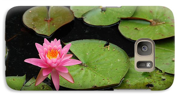 Galaxy Case featuring the photograph Water Lily by Kay Lovingood