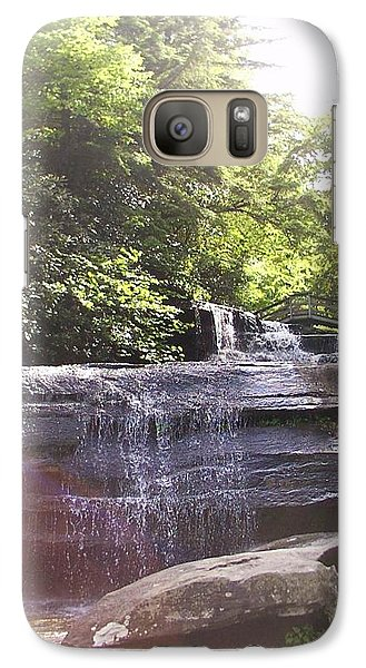 Galaxy Case featuring the photograph Waterfall by Kelly Hazel