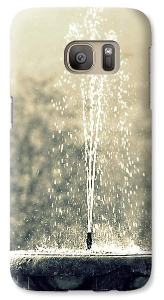 Galaxy Case featuring the photograph Waterfountain by Emanuel Tanjala