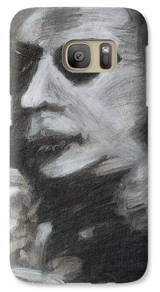 Galaxy Case featuring the drawing Weary by Denny Morreale