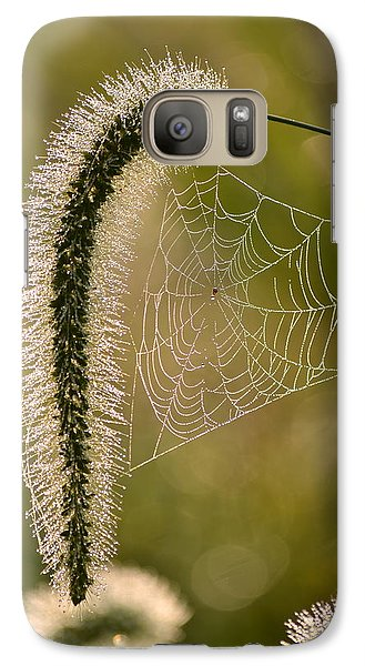Galaxy Case featuring the photograph Webbed Tail by JD Grimes