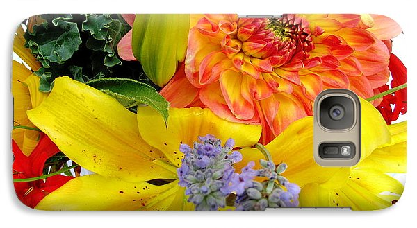 Galaxy Case featuring the photograph Wedding Flowers by Rory Sagner