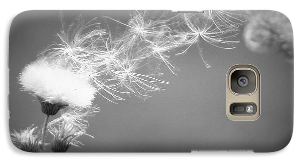 Galaxy Case featuring the photograph Weed In The Wind by Deniece Platt