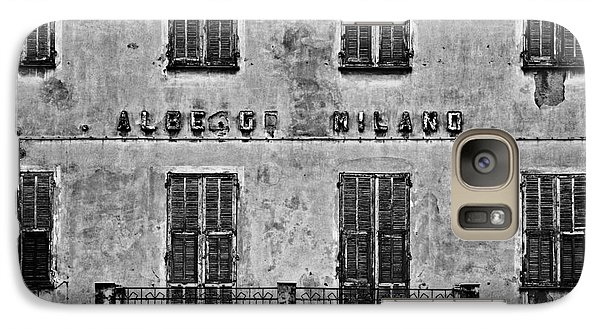 Galaxy Case featuring the photograph Welcome To The Hotel Milano by Andy Prendy