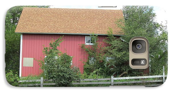 Galaxy Case featuring the photograph Well Kept Barn by Tina M Wenger