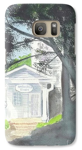 Galaxy Case featuring the painting Wellers Carriage House 1 by Yoshiko Mishina