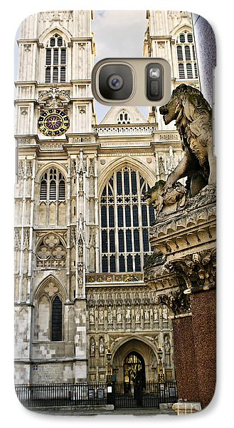 Westminster Abbey Galaxy S7 Case by Elena Elisseeva