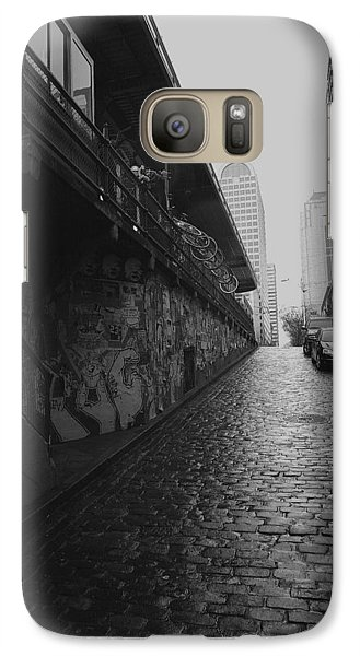 Galaxy Case featuring the photograph Wet Cobbles by Mitch Shindelbower