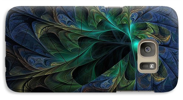 Galaxy Case featuring the digital art What Is Given Here by NirvanaBlues