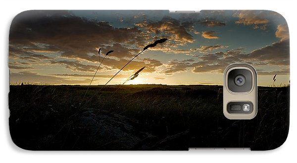 Galaxy Case featuring the photograph Wheat Fields  by Beverly Cash