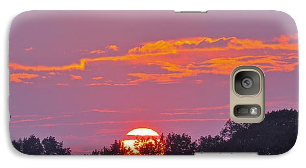 Galaxy Case featuring the photograph Wheels Of Fire In Connecticut Sky by Cindy Lee Longhini