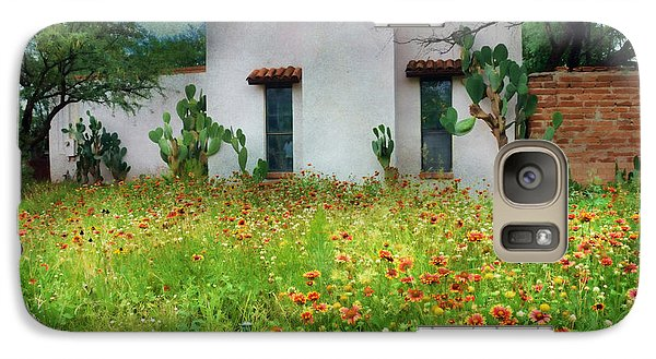 Galaxy Case featuring the photograph When A House Is A Home by Barbara Manis