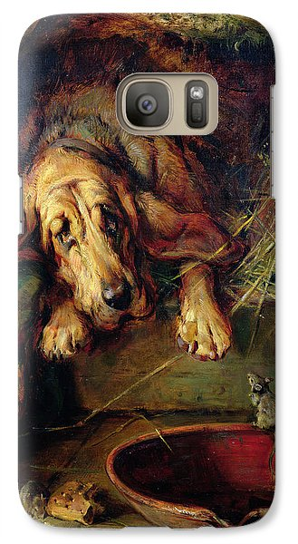 When The Cat's Away The Mice Will Play  Galaxy S7 Case by Philip Eustace Stretton