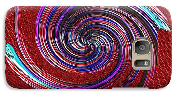 Galaxy Case featuring the digital art When The Stirring Stops by Alec Drake