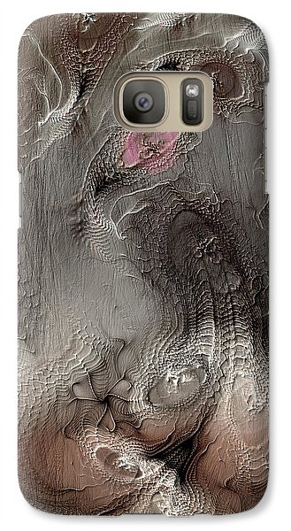 Galaxy Case featuring the digital art Whims Within by Casey Kotas