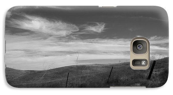 Galaxy Case featuring the photograph Whipping Up The Hillside by Kathleen Grace