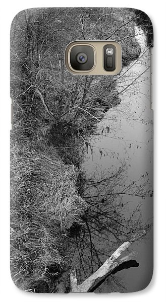 Galaxy Case featuring the photograph White Branch Riverside  by Kathleen Grace