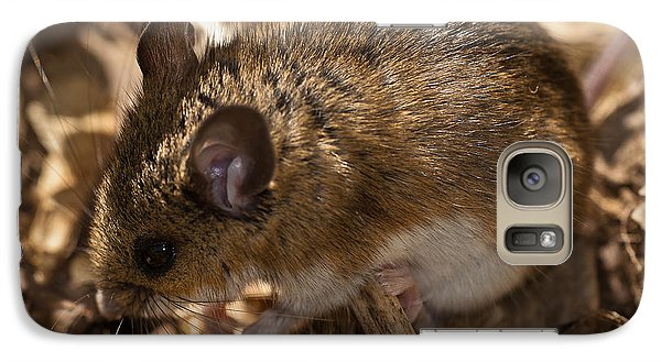 White-footed Mouse Galaxy S7 Case by  Onyonet Photo Studios