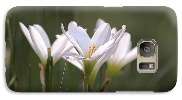 Galaxy Case featuring the photograph White Lily - Symbol Of Purity by Ramabhadran Thirupattur