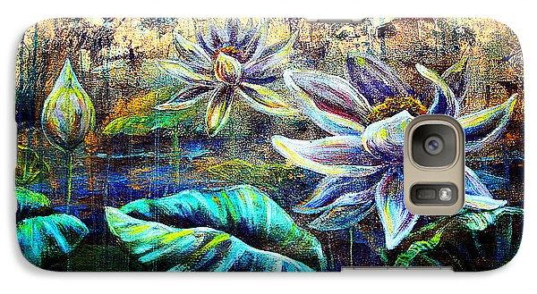 White Lotus Galaxy S7 Case