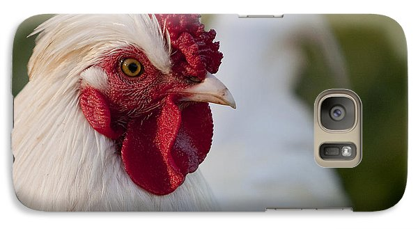 White Rooster Galaxy S7 Case