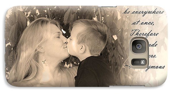 Galaxy Case featuring the photograph Why He Made Mothers by Kelly Hazel
