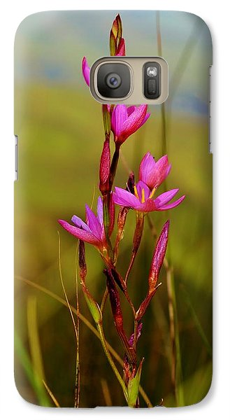Galaxy Case featuring the photograph Wild Flower by Werner Lehmann