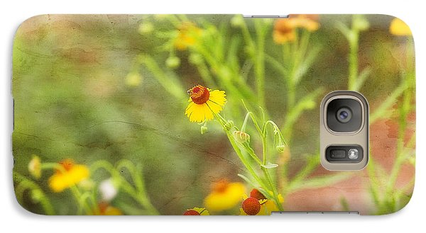 Galaxy Case featuring the photograph Wild Flowers by Joan Bertucci