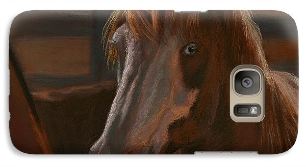 Galaxy Case featuring the painting Wild Hearts Will Not Be Broken by Sheri Gordon