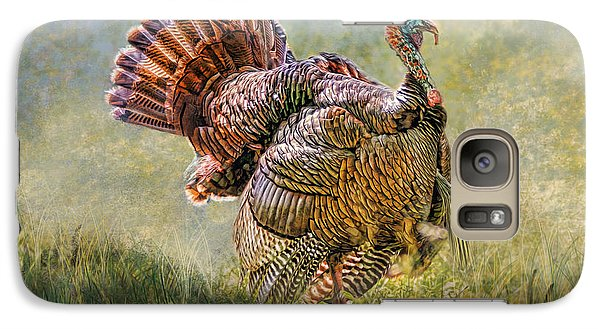 Galaxy Case featuring the digital art Wild Turkey by Mary Almond