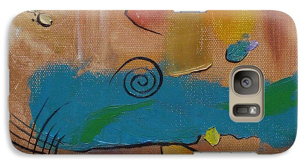 Galaxy Case featuring the painting Wild Wild West by Judith Rhue
