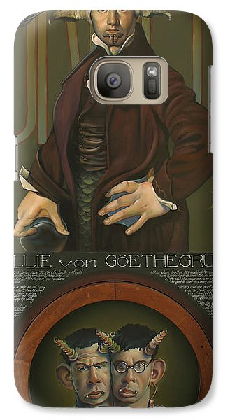 Willie Von Goethegrupf Galaxy Case by Patrick Anthony Pierson