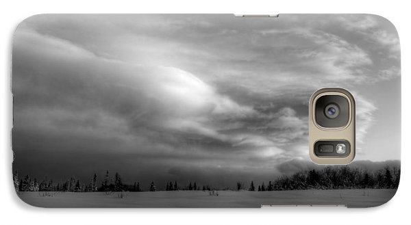 Galaxy Case featuring the photograph Windblown Cloud by Michele Cornelius