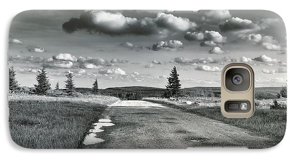 Galaxy Case featuring the photograph Winding Road by Mary Almond