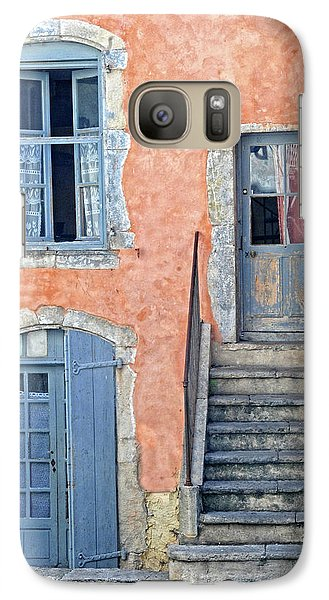 Galaxy Case featuring the photograph Window And Doors Provence France by Dave Mills