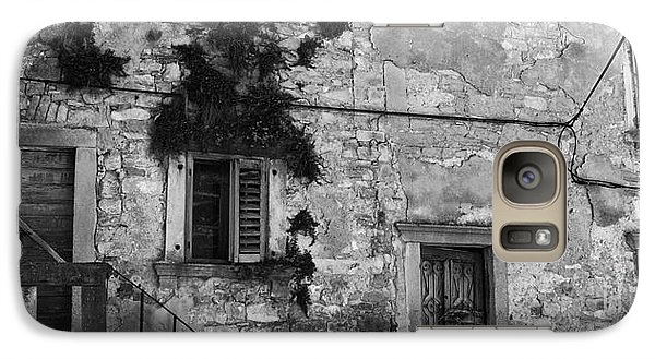 Galaxy Case featuring the photograph Crumbling In Croatia by Andy Prendy