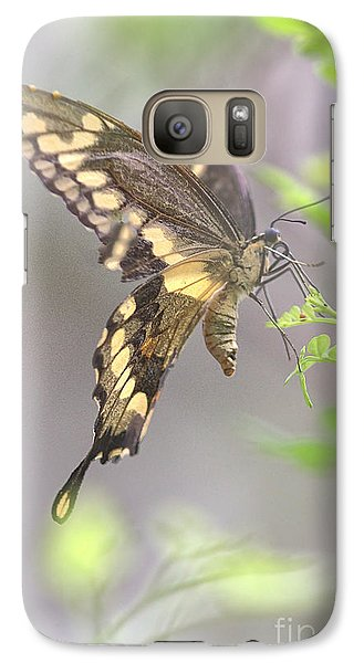 Galaxy Case featuring the photograph Winged Ballet by Anne Rodkin