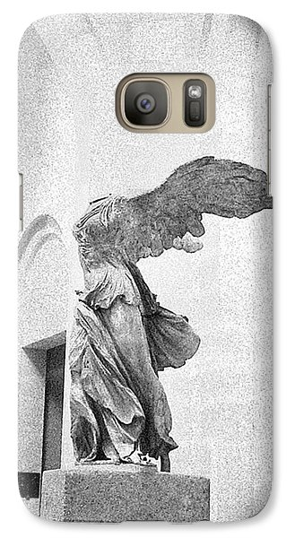 Galaxy Case featuring the photograph Winged Victory Of Samothrace by Louis Nugent