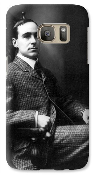 Galaxy Case featuring the photograph Winston Churchill - C 1900 by International  Images