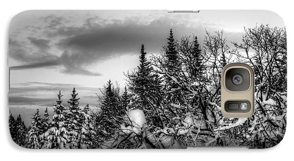 Galaxy Case featuring the photograph Winter Evening by Michele Cornelius