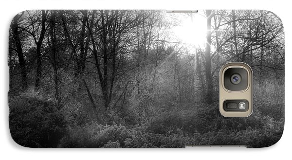 Galaxy Case featuring the photograph Winter Morning by Cindy Haggerty