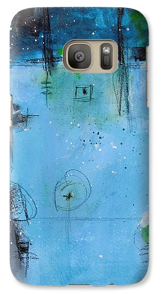 Galaxy Case featuring the painting Winter by Nicole Nadeau