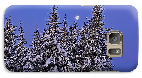 Galaxy Case featuring the photograph Winter Night by Michele Cornelius