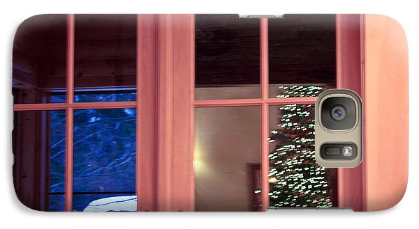 Galaxy Case featuring the photograph Winter Reflections  by Ann Murphy