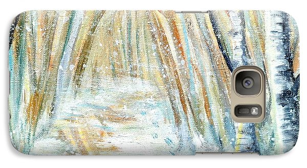 Galaxy Case featuring the painting Winter by Shana Rowe Jackson