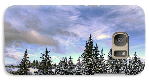 Galaxy Case featuring the photograph Winter Sky by Michele Cornelius